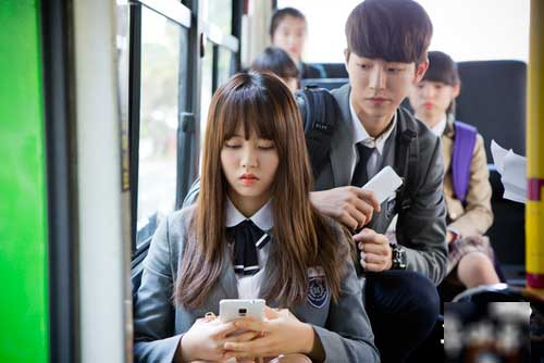 Tebak Nama Pasangan Pemain Drama Korea - Kim So Hyun Nam JooHyuk who are you school 2015 kdrama image