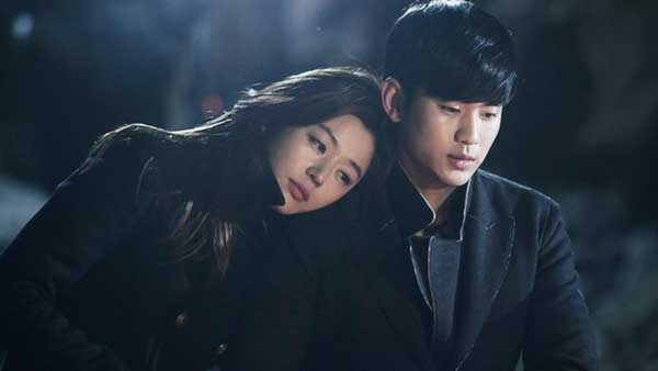 Kim SooHyun & Jun Ji Hyun pemain couple drama korea romantis my love from the stars img