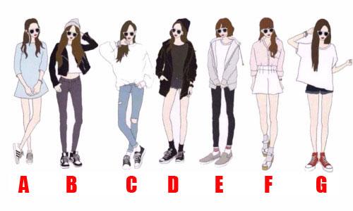 fashion style tipe ideal wanita member bts img