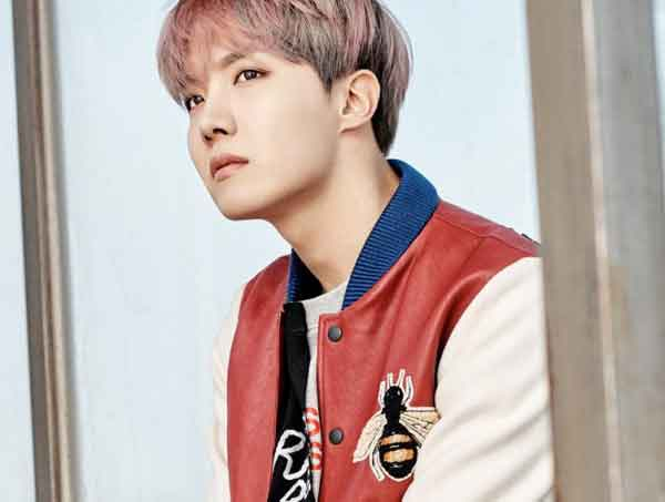 Mencocokkan Nama & Foto Member BTS - foto jung ho seok j hope bts image
