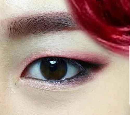 quiz kpop foto member bts park jimin eyes img