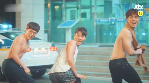quiz drakor tebak gambar adegan lucu drama korea Welcome To Waikiki jpg