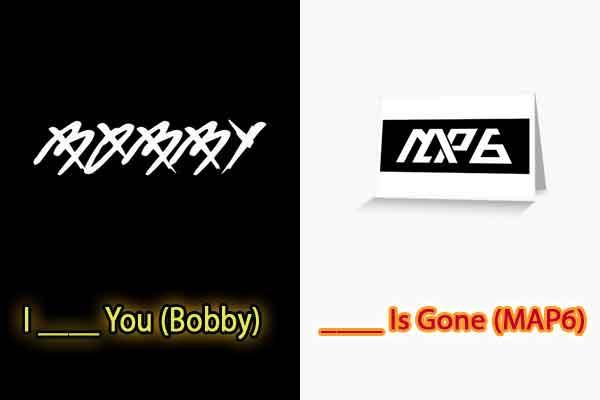 quiz judul lagu kpop bobby map6 pic