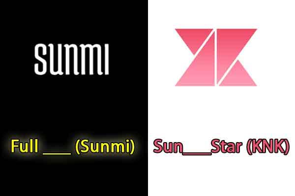 quiz kpop judul lagu sunmi knk image