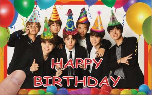 kpop quiz foto kartu ucapan selamat ulang tahun member bts img