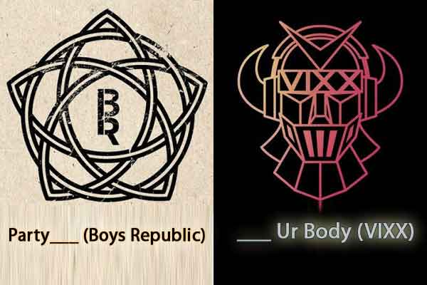 Permainan Tebak 1 Kata Judul Lagu Korea Populer - lagu korea logo kpop boys republic image