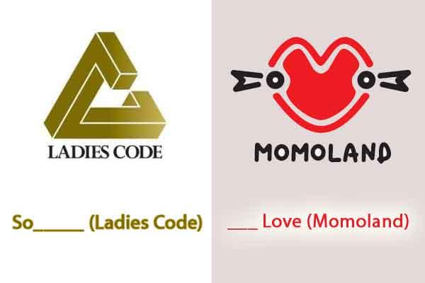 quiz kpop lagu korea logo momoland ladies code wallpaper img