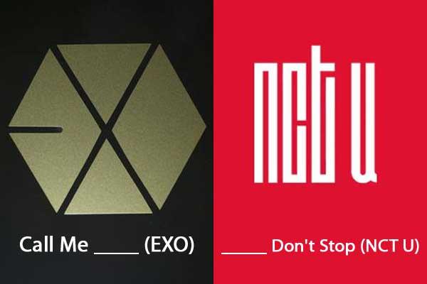 quiz lagu kpop exo nct u img