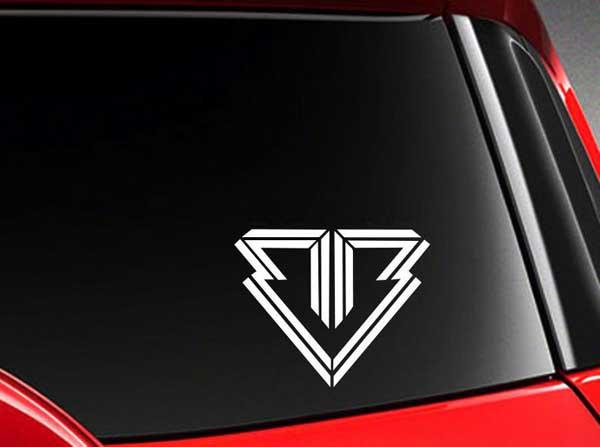 Tebak Logo dan Nama Grup K-Pop - logo band kpop bigbang vinyl car sticker image