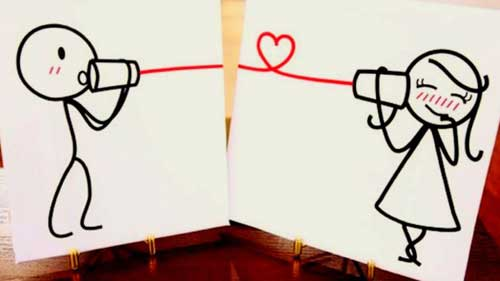 ilustrasi long distance relationship image