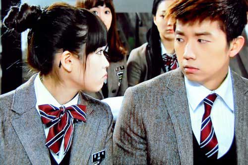 pemain couple drama korea romantis dream high IU & WooYoung jpg
