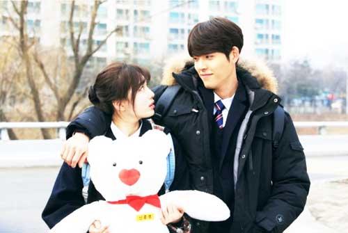 Kim Woo BIn & Suzy pemain couple drama korea romantis uncontrollably fond img