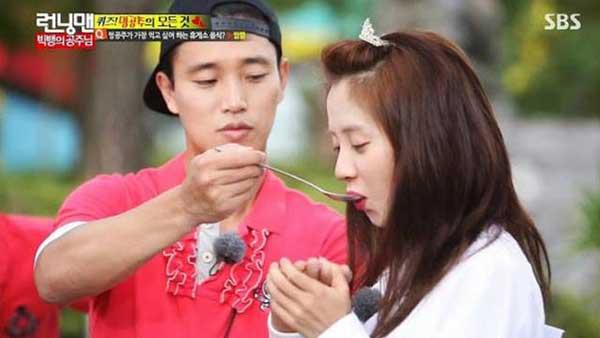 member running man song ji hyo gary scene img