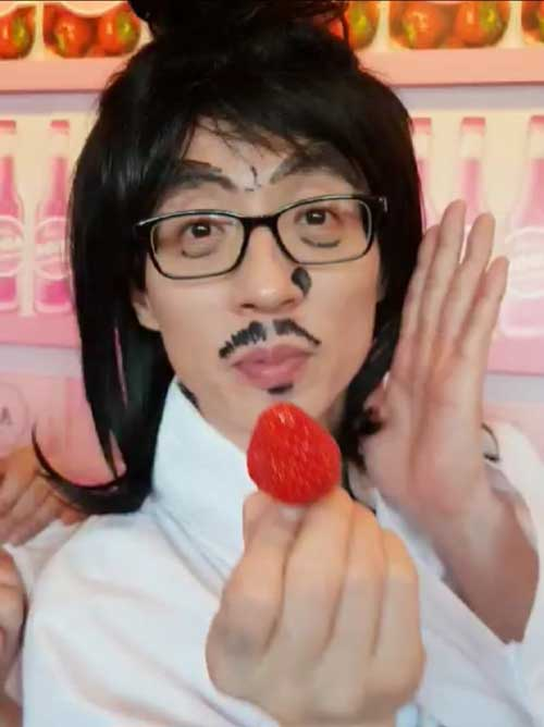 kpop quiz foto member bts suka stroberi img