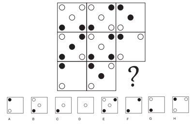 Tes Psikotes Gambar - Soal Psikotes Matriks Gambar soal 18 image