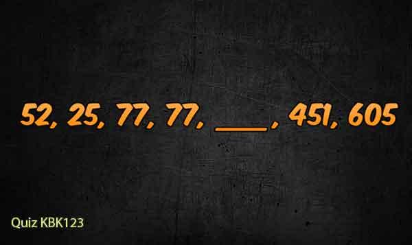 Tes Psikotes Online - gambar psikotes deret angka image