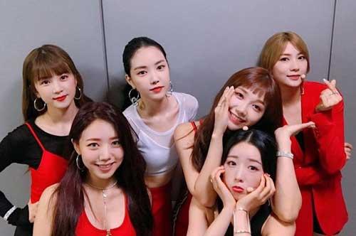 Tes Tulisan Hangul Nama Grup Kpop - member apink kpop grup image