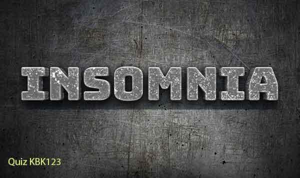 Tes Psikotes Online - soal psikotes online gambar insomnia image