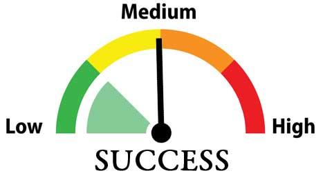 Tes Kepribadian Kecenderungan Sukses - success medium level image