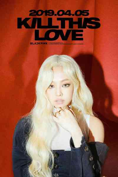 foto jennie blackpink photoshoot sampul wallpaper album kill this love