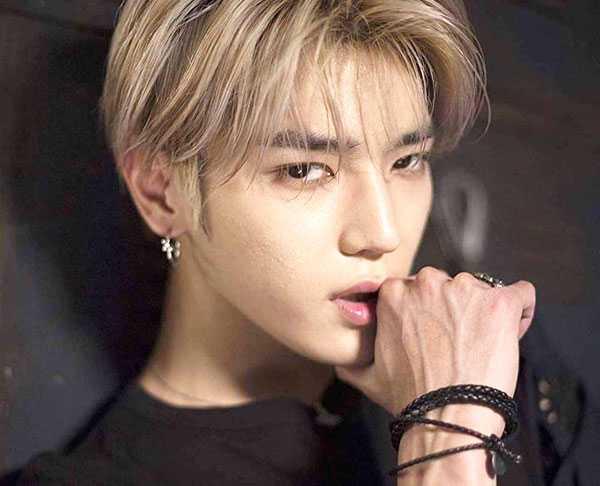 biodata taeyong nct foto wajah terbaru member super m