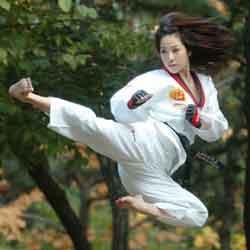 taekwondo olahraga favorit jisoo blackpink img
