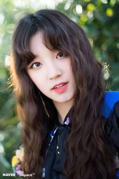 foto cantik profil yuqi g idle casting di alam pulai jeju