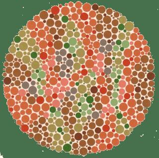 gambar 15 tes buta warna ishihara jalur garis ular