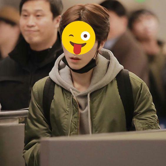 kuis nctzen - foto Xiao-Jun-wayv-nct-emoji