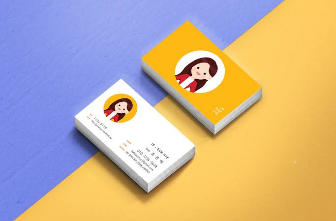 kosa kata bahasa korea kata benda - kartu nama korea img