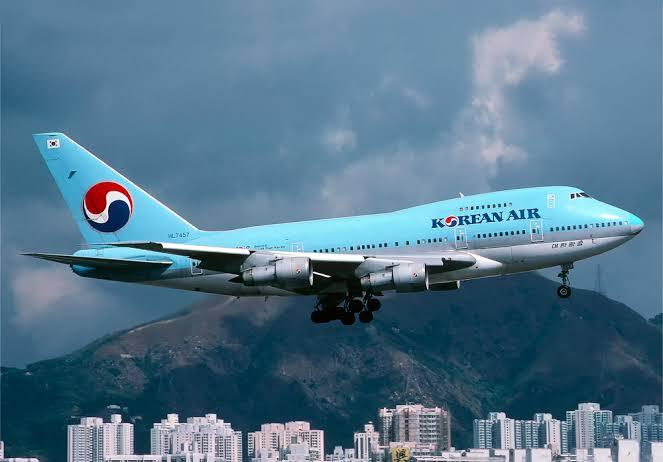 gambar pesawat terbang korea air line img