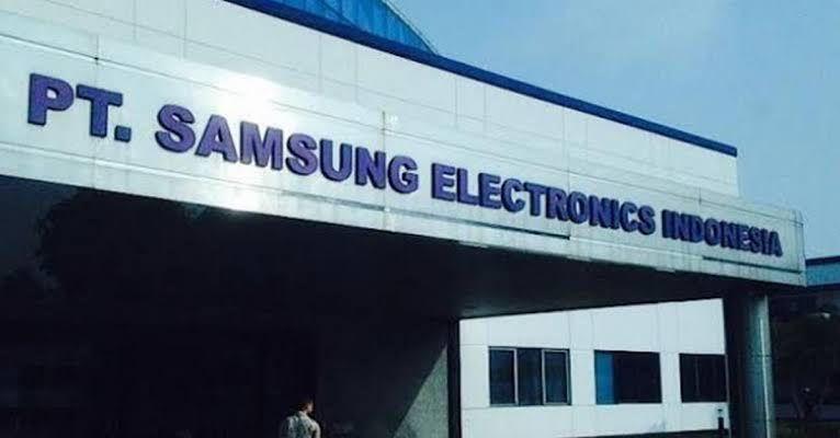 foto pabrik pt samsung electronics indonesia