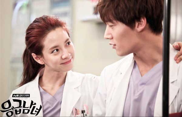 Choi Jin-Hyuk & Song Ji-Hyo pemain couple drama korea romantis emergency couple img