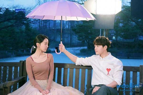L & Shin HyeSun pemeran couple drama korea romantis angel's last mission love kdrama img