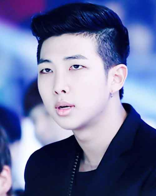 kpop quiz tebak lagu bts hairstyle kim namjoon rm bts no more dream img