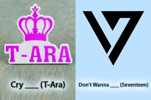 Melengkapi 2 Judul Lagu Kpop dengan 1 Kata