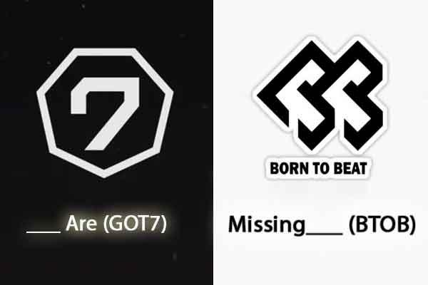 quiz kpop lagu korea logo got7 btob wallpaper img