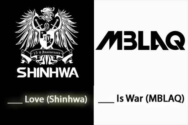 quiz kpop lagu korea logo mblaq shinhwa wallpaper img