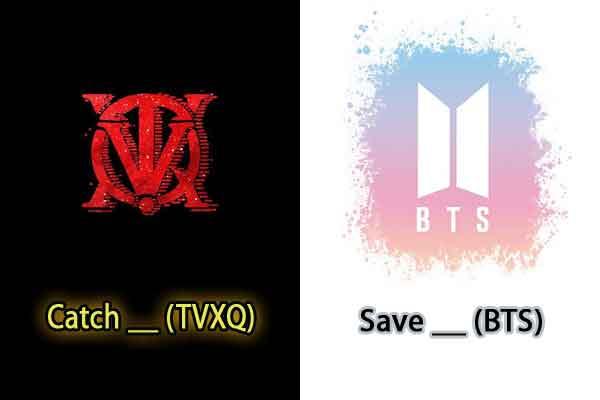 quiz judul lagu korean pop tvxq bts pics