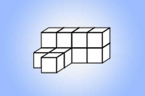 berapa jumlah kubus yang ada pada gambar img