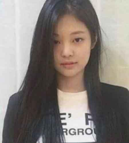foto wajah jennie blackpink waktu pra debut jpg