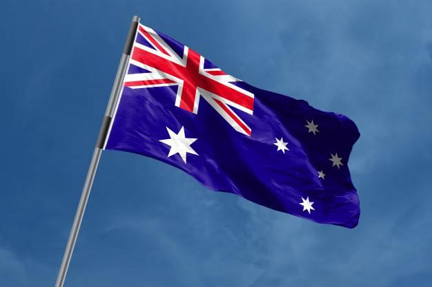 bendera negara australia pic