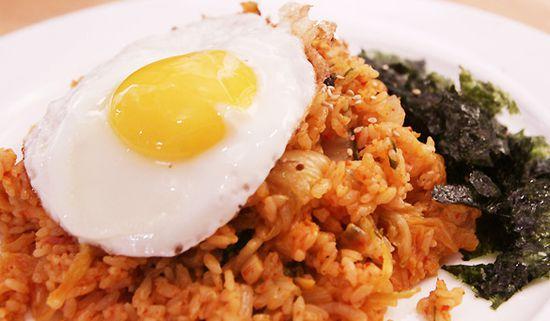 nasi goreng korea bokkeumbap pic