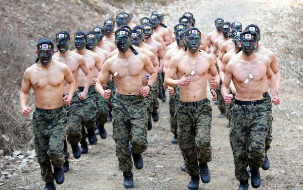 kosakata profesi - tentara korea selatan jpg
